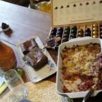 Table d'hôtes - dessert et café